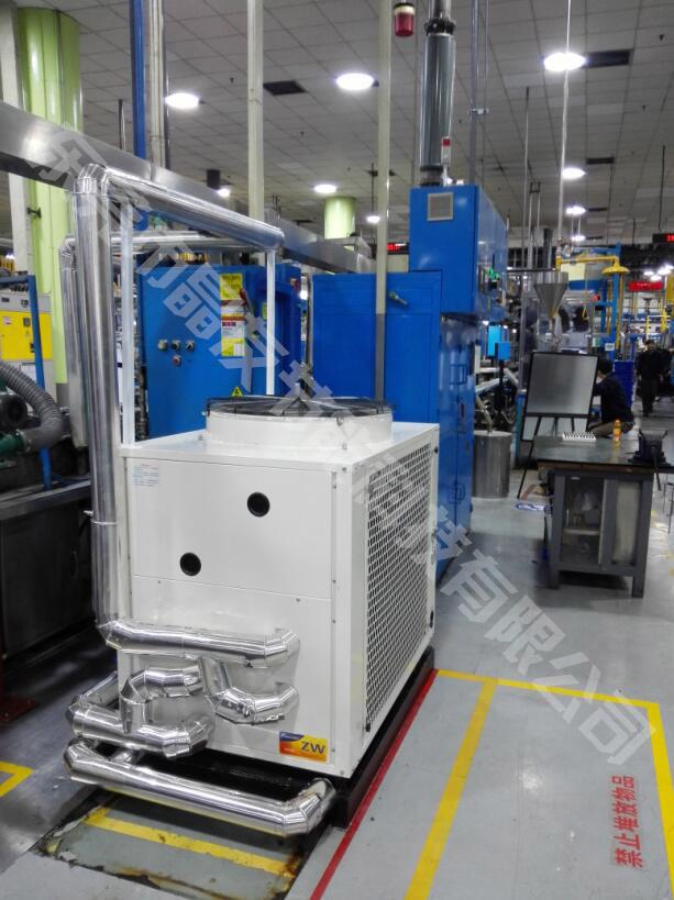 中央空调余热利用工程晶友空气能热水器怎么会发出噪音?